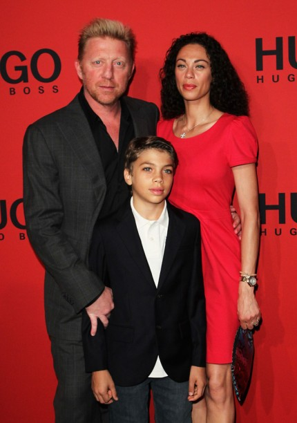 Boris Becker, Lilly Becker and